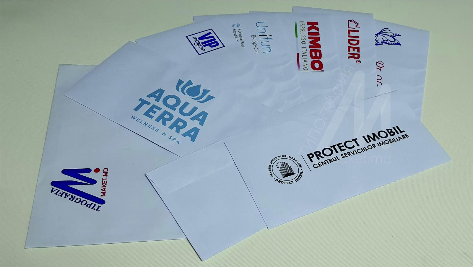 Почтовые конверты с логотипом - фото 1