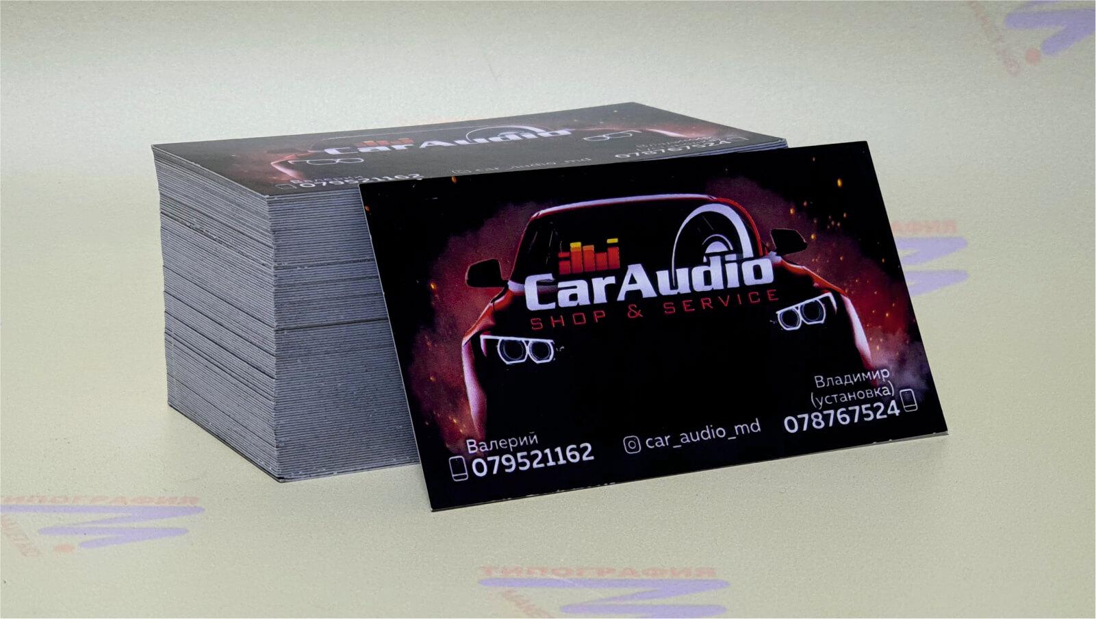 черные визитки с машиной фото 19