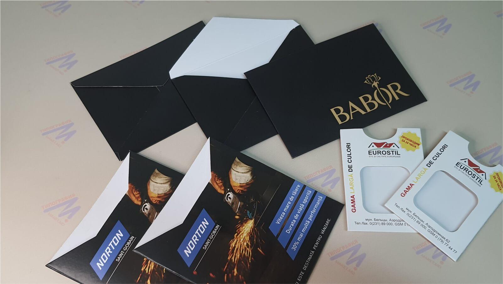 конверты черные вырубные фото 2